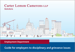 Guide for employers to disciplinary and grievance issues