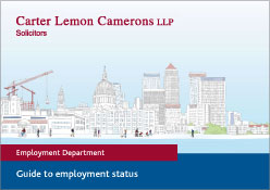Guide to employment status