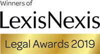 Lexis Nexis Legal Awards 2019 finalists