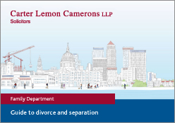 Guide to divorce and separation