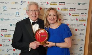 City law firm wins prestigious national legal award in recognition of its international services