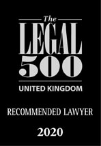 The Legal 500: Recommended lawyer 2020